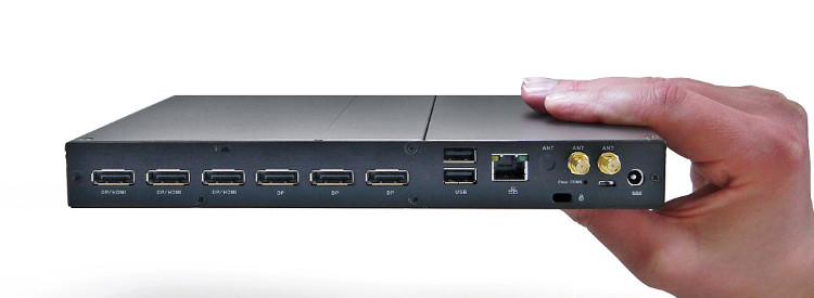 Giada Digital Signage Player von vorne