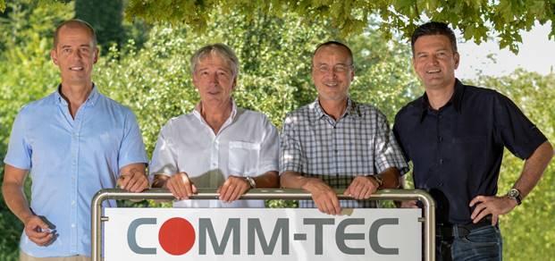 Gruppenbild COMM-TEC Teracue