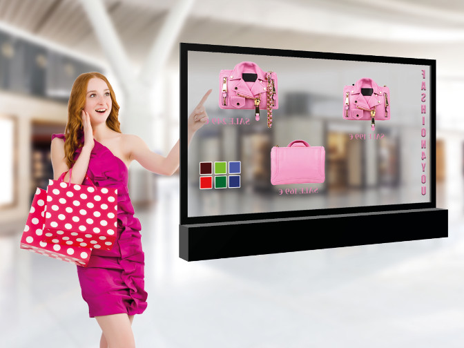 Transparentes Display Eye-ToLED 5500 mit Touch-Funktion