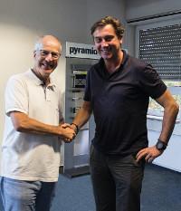 Frieder Hansen und Thomas-Peter Fischer