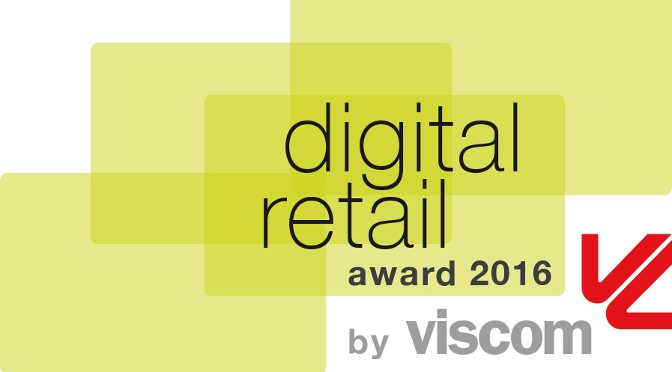 <strong>Viscom: Digital Retail Award 2016</strong>
