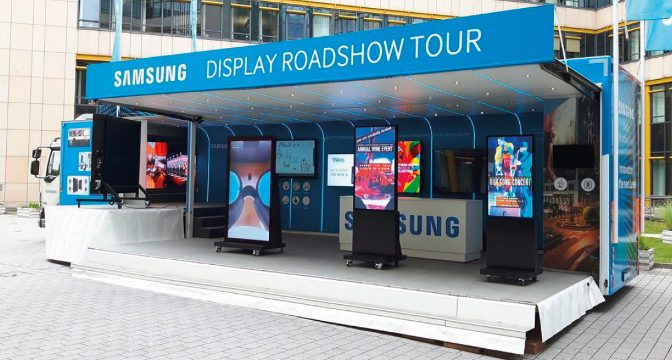 <strong>Samsung SMART Signage Roadshow</strong>