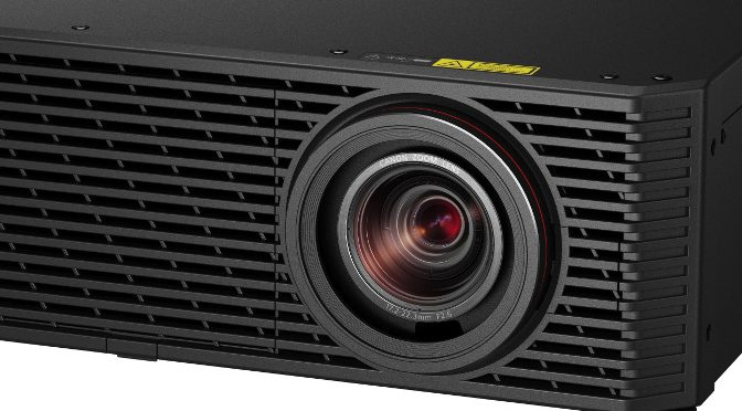 <strong>Projektor Canon XEED 4K600STZ auf der ISE</strong>