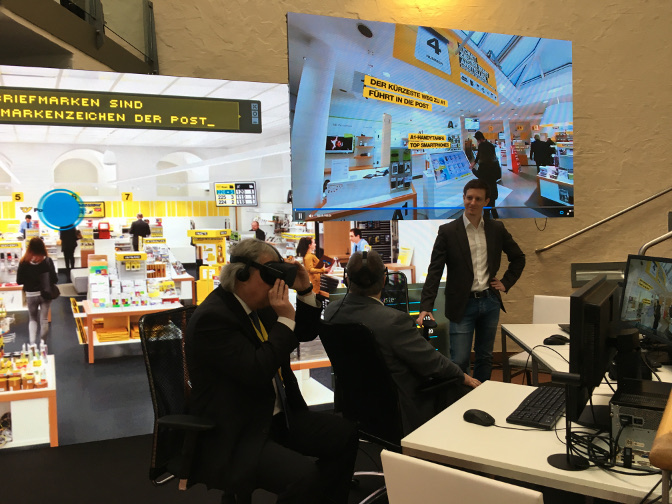 Jumptomorrow Virtual Reality Retail Anwendung