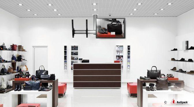 <strong>FLEX-800 Display-Halterung von Audipack</strong>