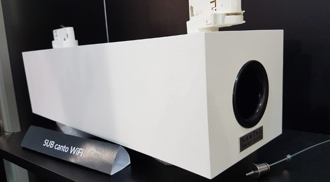 <strong>Sub Canto WiFi Subwoofer von NewTec</strong>