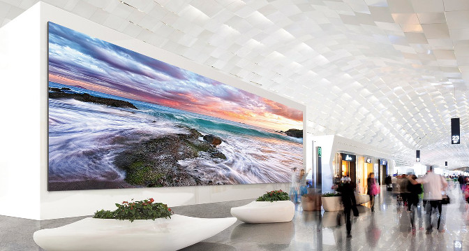 Samsung LED-Wall mit IF-Serie