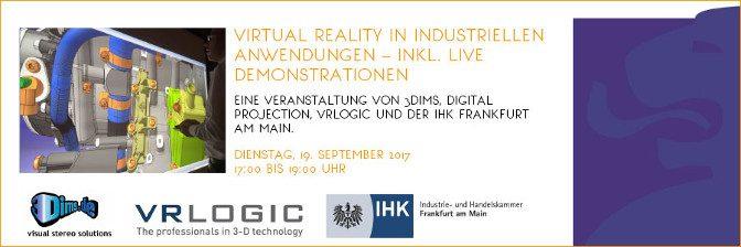 <strong>Virtual Reality in industriellen Anwendungen</strong>