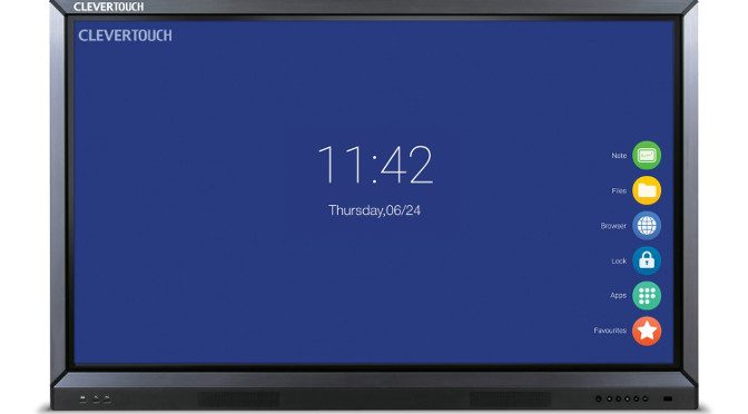 <strong>Clevertouch Displays jetzt bei Kindermann</strong>