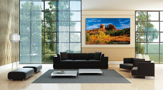 <strong>Sharp/Kern & Stelly: 70″-Videowall-Display PN-V701</strong>