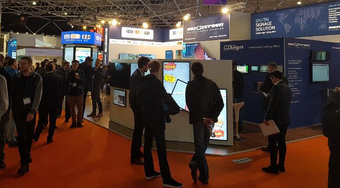 <strong>sycomtec Digital Signage auf der ISE</strong>