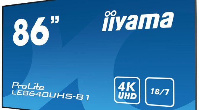 <strong>Large Format Displays der 40er-Serie von iiyama</strong>