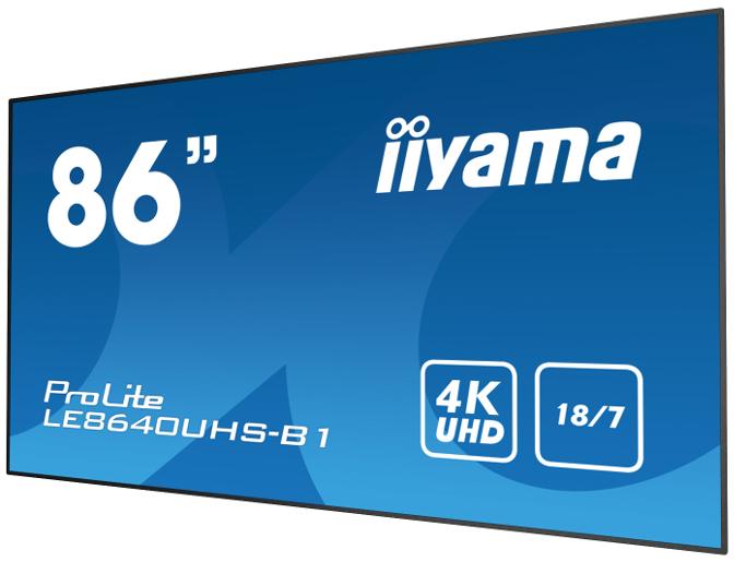 40er-Serie Display LE8640UHS-B1 von iiyama