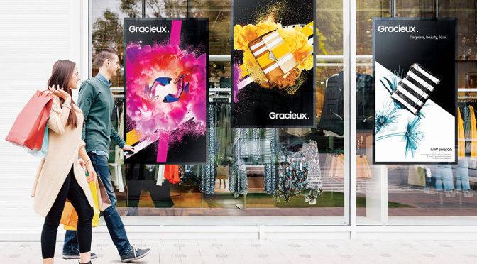 <strong>Samsung OMN-Serie für Schaufenster</strong>