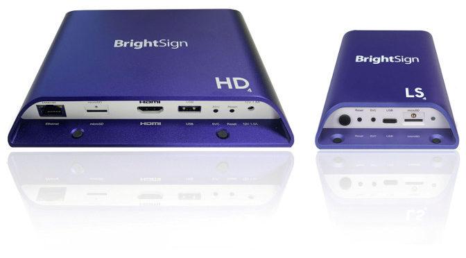 <strong>BrightSign: Serie 4 komplettiert</strong>