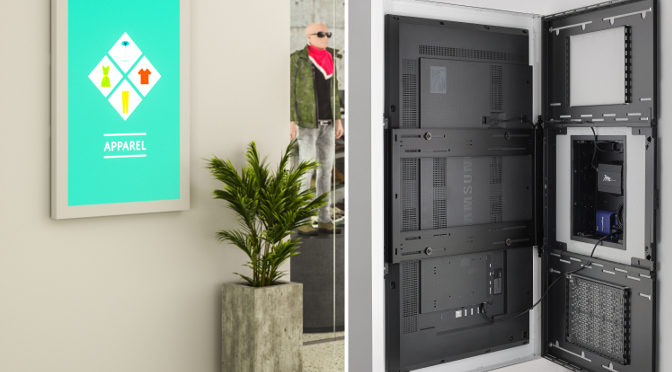 <strong>Erweiterung der Impact on-wall digital signage kisok-serie</strong>
