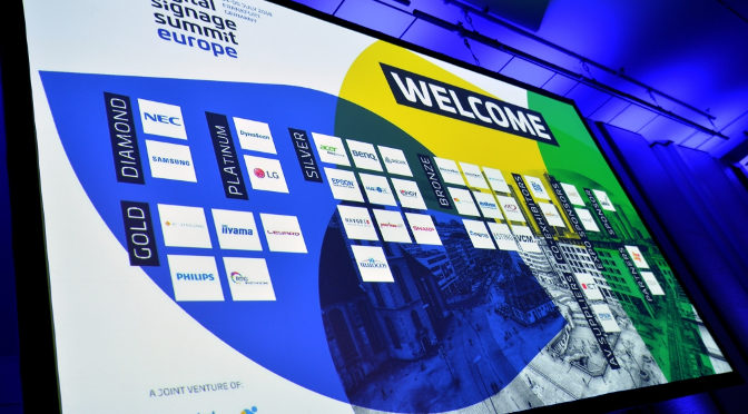 <strong>der digital signage summit  europe 2019</strong>