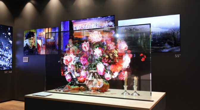 <strong>LG setzt auf transparente OLEDs (T-OLED)</strong>