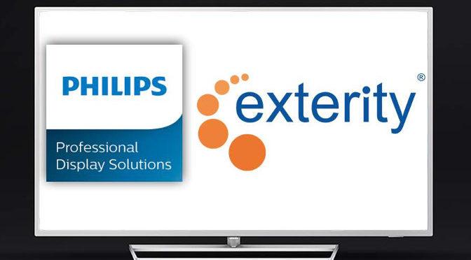<strong>Exterity und Philips PDS kooperieren weiter</strong>