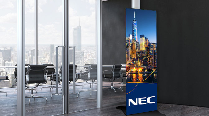 <strong>NEC Präsentiert neue A-Serie dcled für DS-Anwendungen</strong>