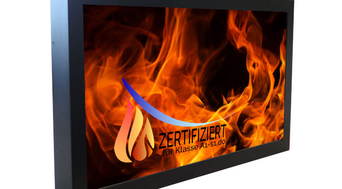 <strong>Höchste Brandschutzklasse für BLO-Line-Monitore</strong>