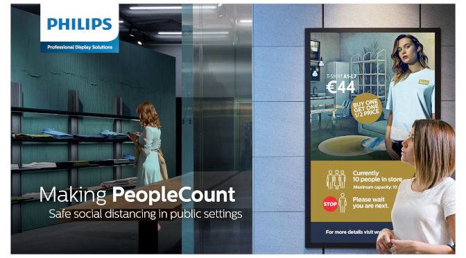 <strong>PeopleCount von Philips PDS</strong>