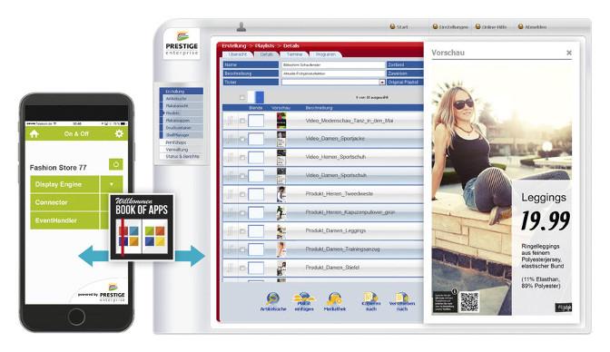 ScreenShot PRESTIGEenterprise 5.0