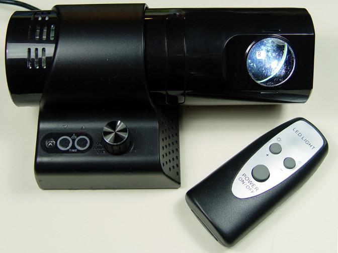LED-Gobo Projektionsuhr