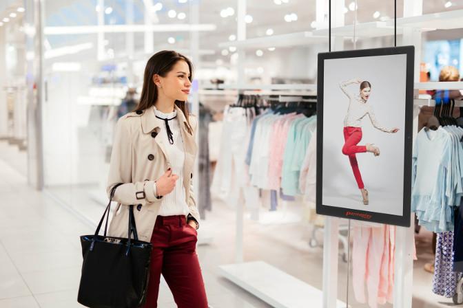 Displays im Einzelhandel