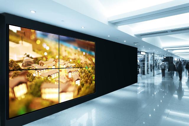 PLANO Videowall von Projecta