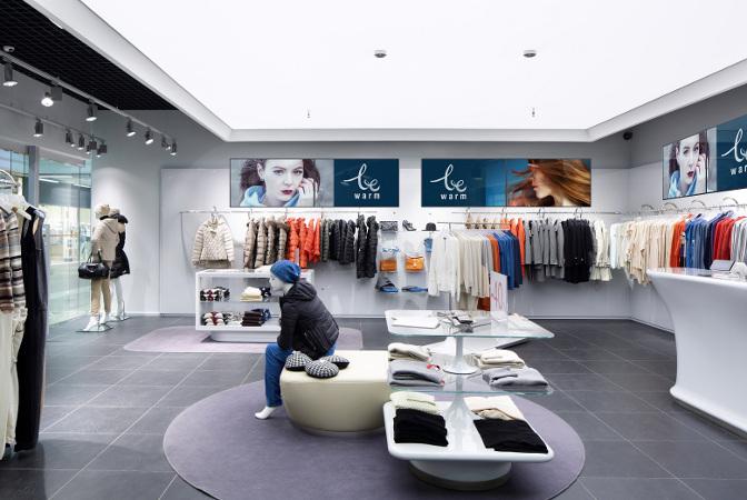 NEC Digital Signage Displays im Einzelhandel