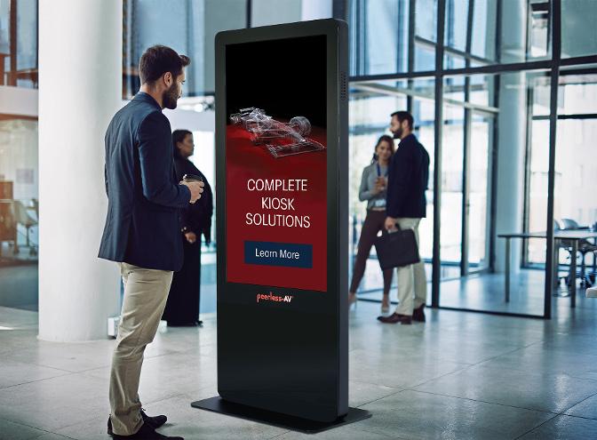 KIPICT555 All-in-One Kiosk von Peerless-AV