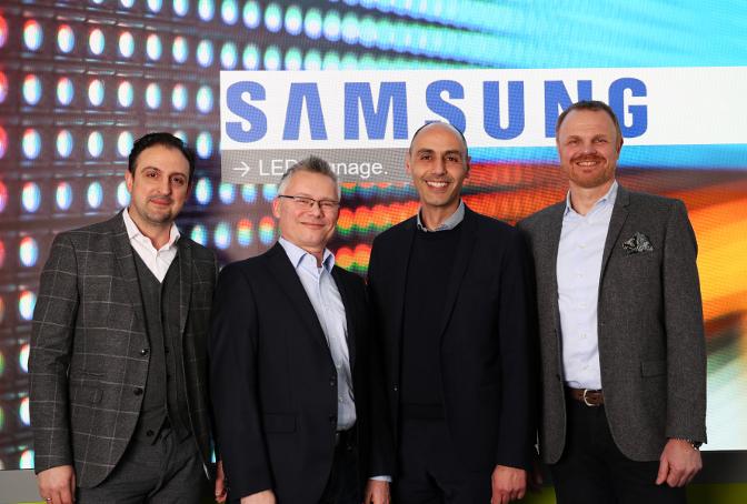 Team Kern & Stelly und Samsung