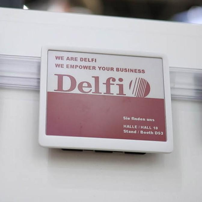 Regalbeschilderung Delfi