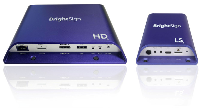 BrightSign HD/LS Serie 4