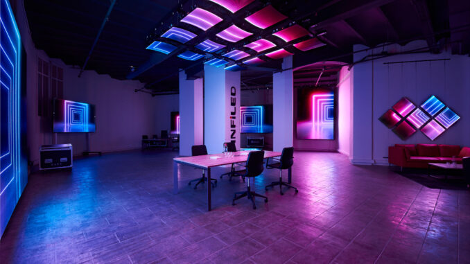 INFiLED Showroom in Barcelona