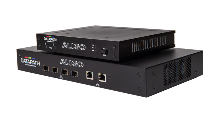 Aligo QTX100 and RX100 von Datapath