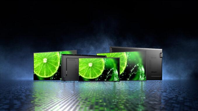 Sharp/NEC's neue E-Serie Displays