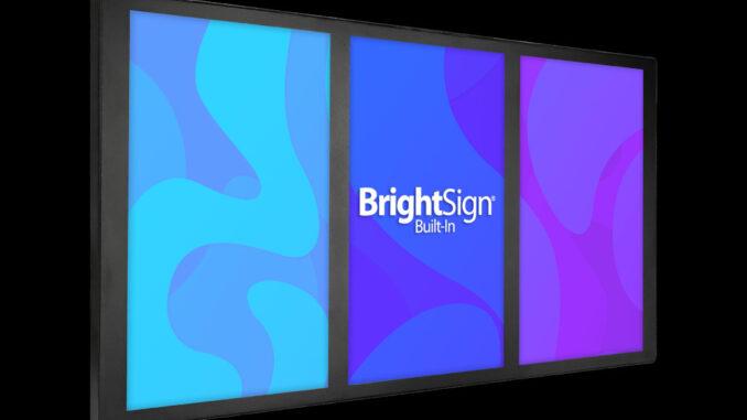 3x1 Multiscreen von BrightSign und Bluefin