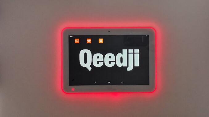 Qeedji TAB10s Raumbuchung